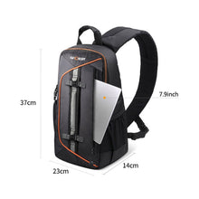 Load image into Gallery viewer, K&F CONCEPT Digital DSLR Camera Bag Backpack Case Travel Sling Shoulder Bag Shockproof Waterproof with Lens Cleaning Set for Canon Nikon Sony Outdoor Photography