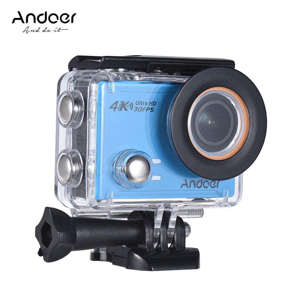 Andoer AN100 4K WiFi Action Sports Camera 30MP 1080P/120fps 2.0