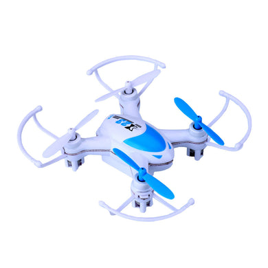 Mini 2.4Ghz 4CH 6Axis Gyro 360º Eversion RC Quadcopter Drone RTF Aircraft Blue