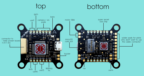 Brain FPV Radix Flight Controller