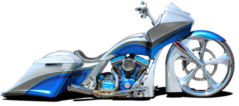 Side Covers Push Into Place. Tol Parts aftermarket Harley Motorcycle Las Vegas Custom Builds