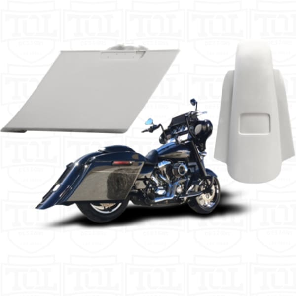 5.5 Hooligan Bags Fender Tank & Side Covers - Harley Touring Body Kit - Body Kit