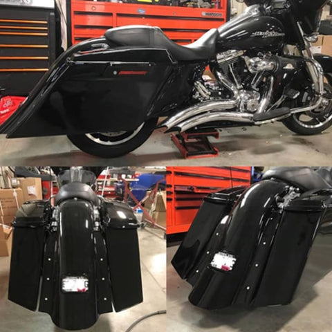 Image of 5.5 Hooligan Bags Fender Tank & Side Covers - Harley Touring Body Kit - Body Kit
