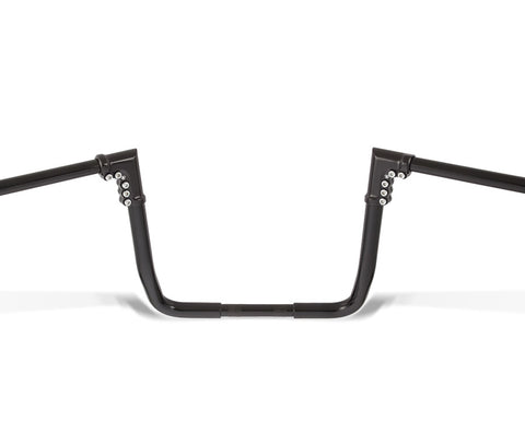 "Image of Ape Hangers - 13"" Black Motorcycle Handlebars"