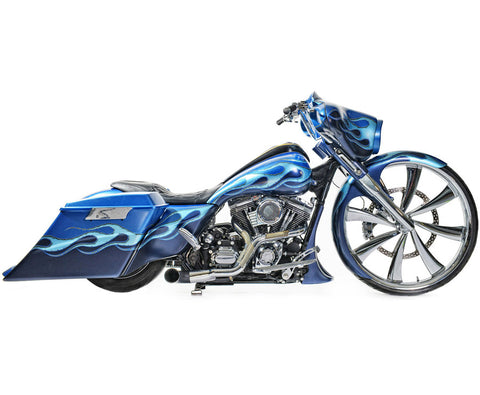 Image of 18-inch Custom Motorcycle Wheels - Ardent 2D Wheels | TOL Designs