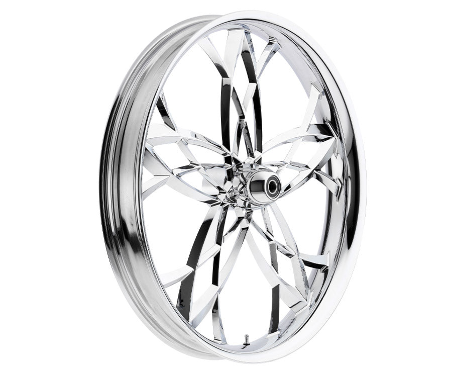 16-inch Custom Motorcycle Wheels - Asturi 2D Wheels | TOL Designs