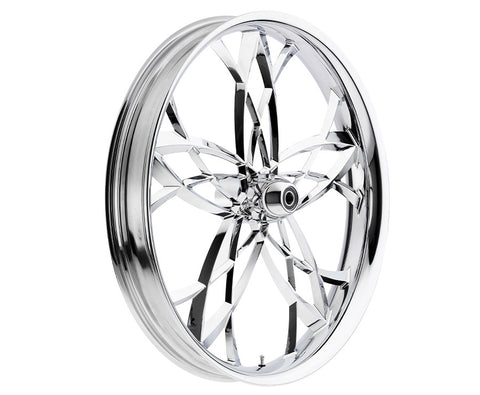 17-inch Custom Motorcycle Wheels - Asturi 2D Wheels | TOL Designs