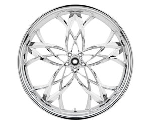 18-inch Custom Motorcycle Wheels - Asturi Wheels | TOL Designs