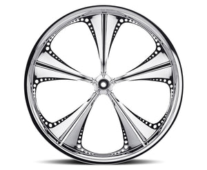 26-inch Custom Motorcycle Wheels - Christopoly Wheels | TOL Designs