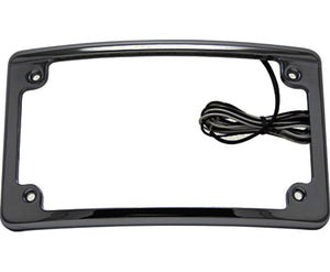 LED Motorcycle License Plate Frame