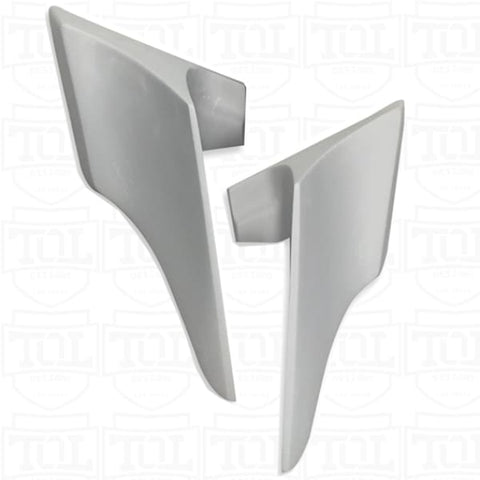 Push In Side Covers for 2008 & Older Harley Touring Motorcycles TOL Designs Pop On Side Panels
