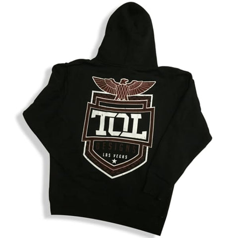 Image of Mens Hooded Sweatshirt - Mens Apparel