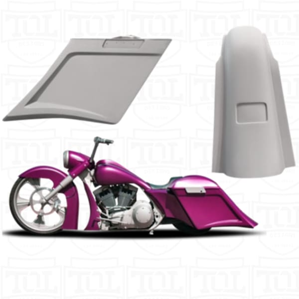 Reflex Bags and Fender Kit 2013- - Bags and Fender