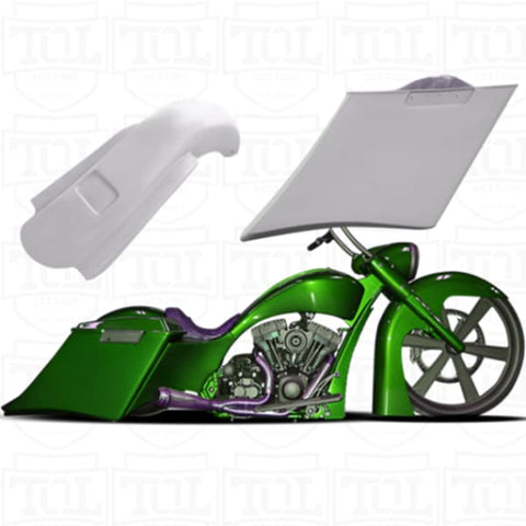 Smooth Flex Bags and Fender Kit 2013- - Bags and Fender