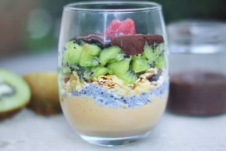 Fruit and Granola Protein Parfait