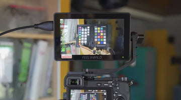 FILMEN LERNEN 👉 Focus Assist Monitor Monitor FEELWORLD F6 PLUS