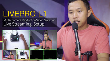 FEELWORLD LIVEPRO L1 Multi- camera Production Video Switcher USB3.0 Live Streaming  Review
