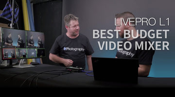 FEELWORLD LIVEPRO L1 Bedste budget Unboxing & Review-Multi-kameraer Live Streaming Switcher Mixer