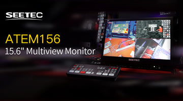 SEETEC ATEM156 - 15.6 tuuman Multiview Monitor Live Streaming -asetus ATEM Mini Review -sovellusta varten