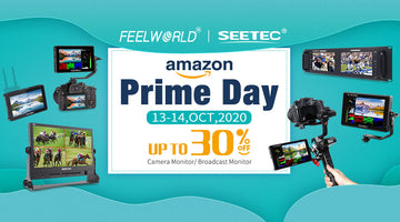 2020 Prime Day Sales Up to 30% OFF on FEELWORLD camera monitor and SEETEC broadcast monitor