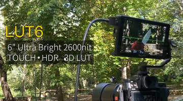 "FEELWORLD LUT6 - 6"" Ultra Bright 2600nit Viewable in Sunlight HDR Monitor with Waveform LUT Review"