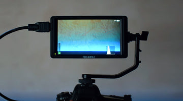 Unpacking and reviewing on-camera monitor Feelworld F5
