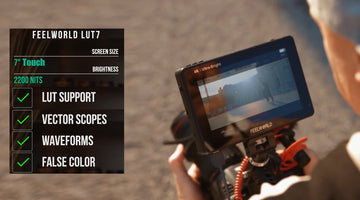 The FEELWORLD LUT7 is finally the on camera monitor you are waiting for