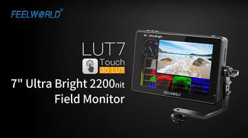 FEELWORLD Bagong LUT7 7 '' Ultra Bright 2200nit Touch Patlang ng Monitor na may LUT Waveform Auto Maliwanag na Isaayos