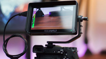 FEELWORLD F6 Plus Monitor Review 5.5 Inch 3D LUTs Touchscreen for Sony Alpha a6500 Camera