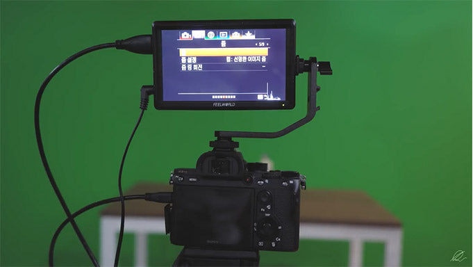 camera hdmi monitor sony