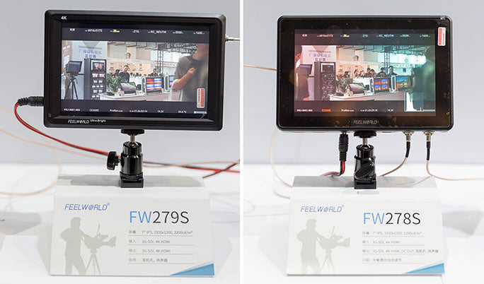 7 inch bright field monitor
