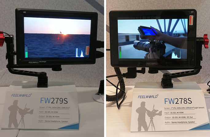 7 inch daylight viewable monitor