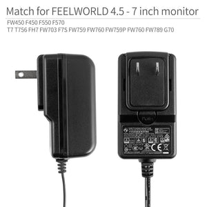 12V-1.5A power adapter