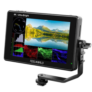 FEELWORLD LUT7 PRO 7 Inch 2200nits DSLR Camera Field Monitor LUT Touch F970 External Kit HDMI