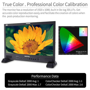 SEETEC LUT215 21.5 дюймдук 3D LUT Broadcast Studio Monitor 3G-SDI 4K HDMI Full HD 1920x1080