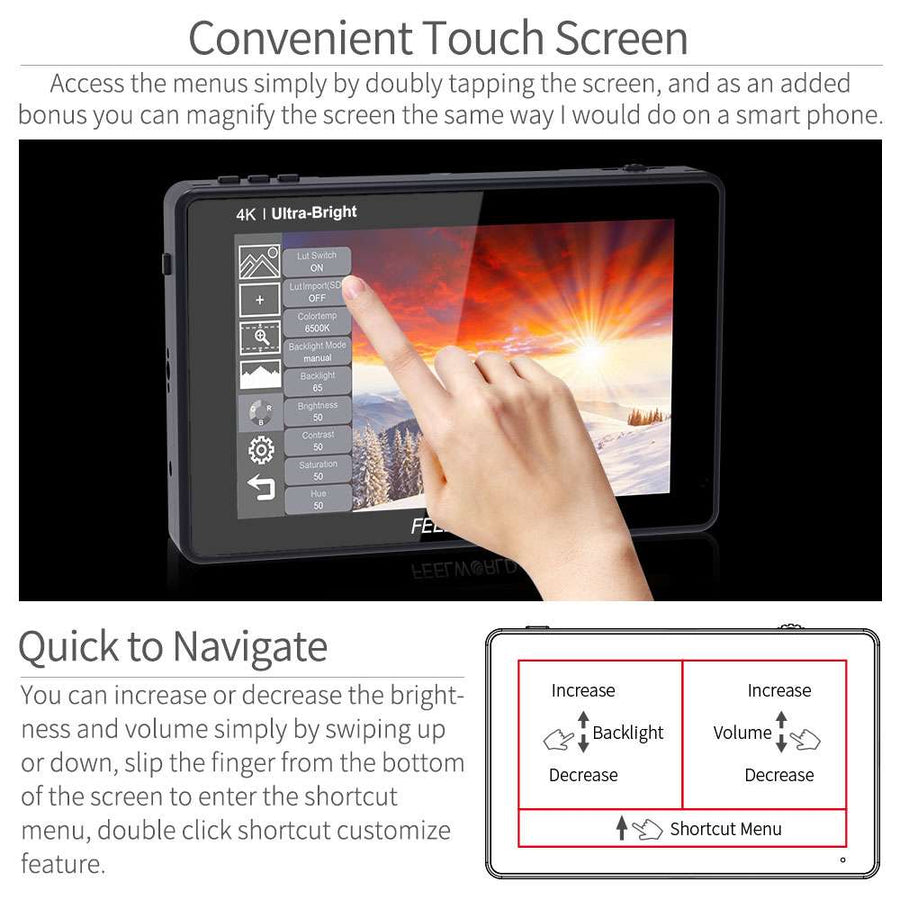 dslr camera screen monitor