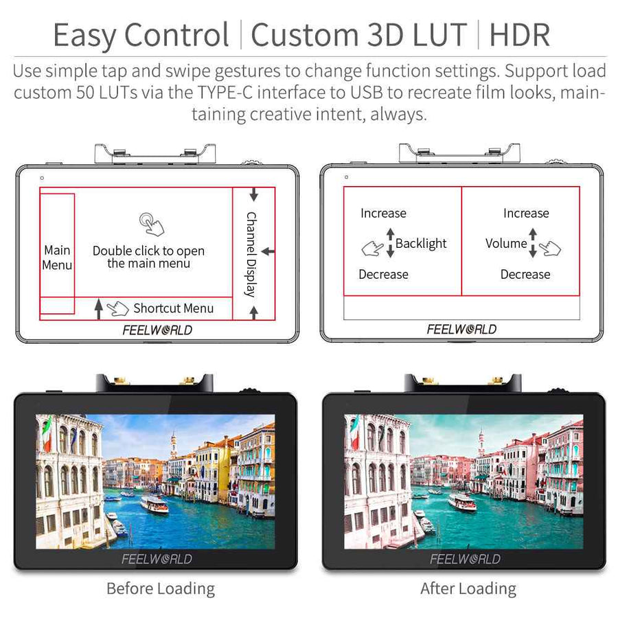 hdmi field monitor