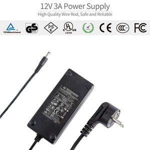 Feelworld DC 12V 3A Supply Home Power Adapter for Feelworld FW279 FW279S Only for European Standard