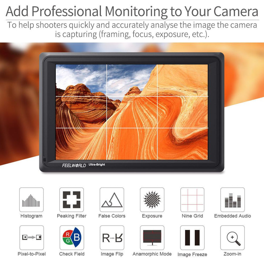 Camera Field Video Monitor