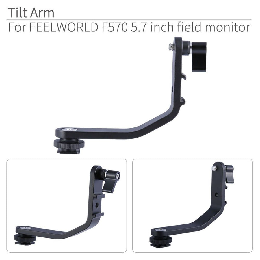 dslr monitor tilt arm