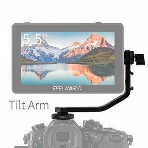 FEELWORLD F6 PLUS 5.5 Inch 3D Лут сенсорный экран Камера Талаа Monitor тент Арм