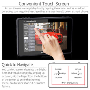 touchscreen field monitor
