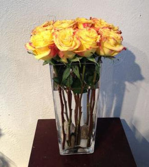 Contemporary Pave Style Roses