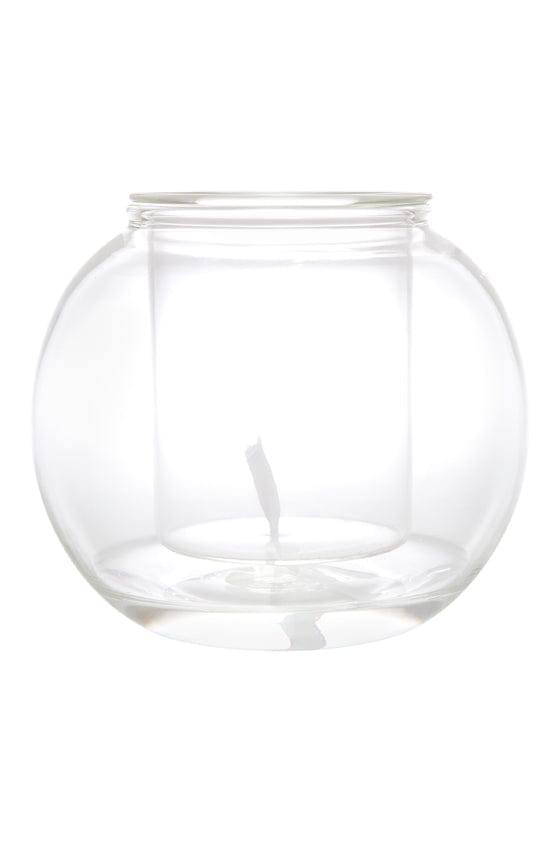 Large Self-Watering Glass Pot