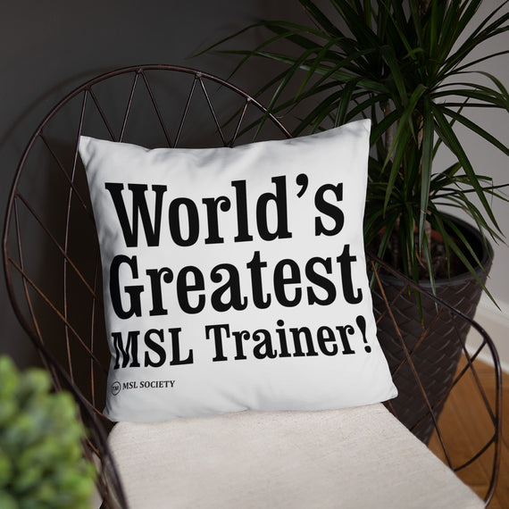 Basic Pillow - MSL Society Store