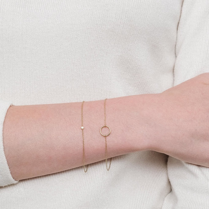 Yellow Gold Le Cercle bracelet