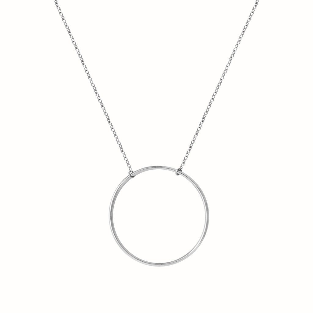White Gold Le Cercle necklace