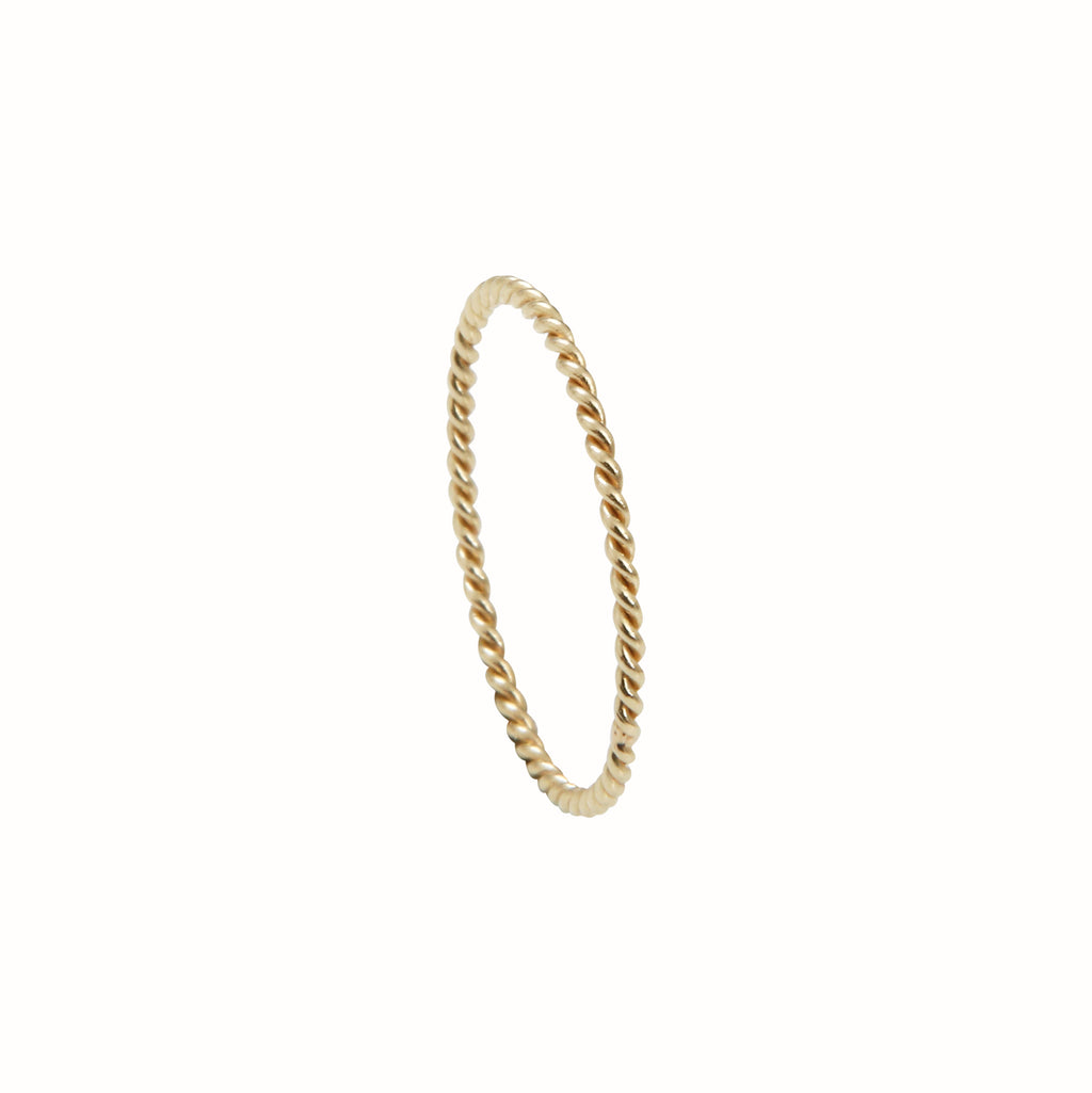 Yellow Gold La Twist ring