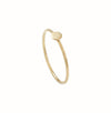 White Gold L'initiale ring