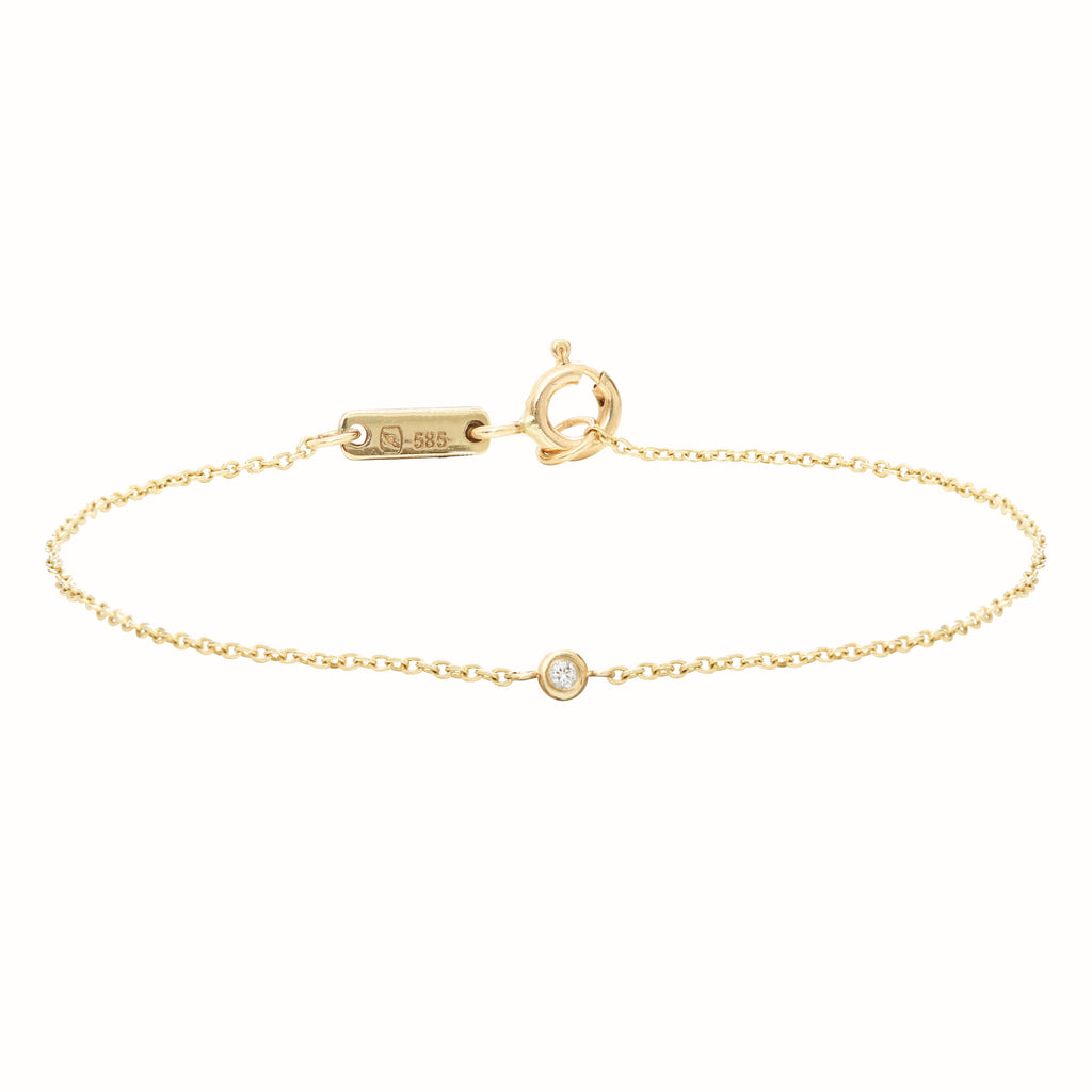 Yellow Gold Le Solitaire bracelet